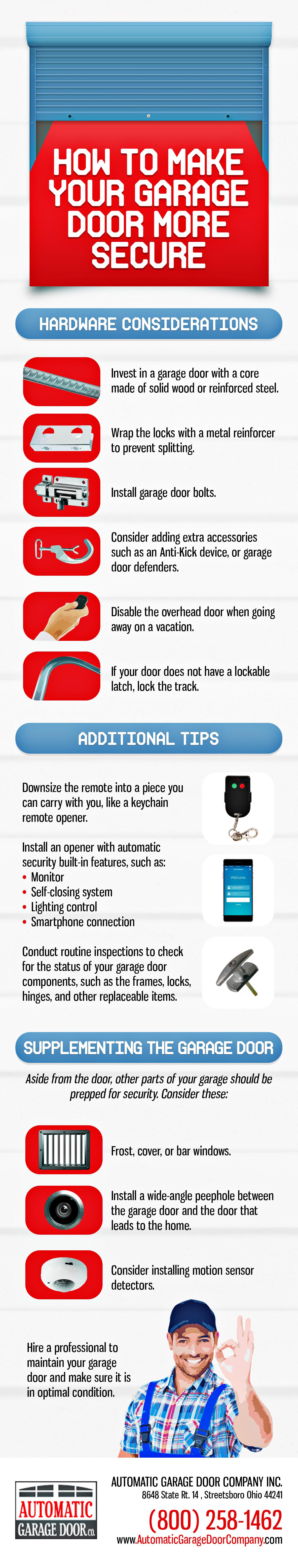Make Your Garage Door Secure