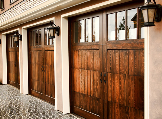 Garage Door Style Series Benefits Of Wood As A Material Automatic