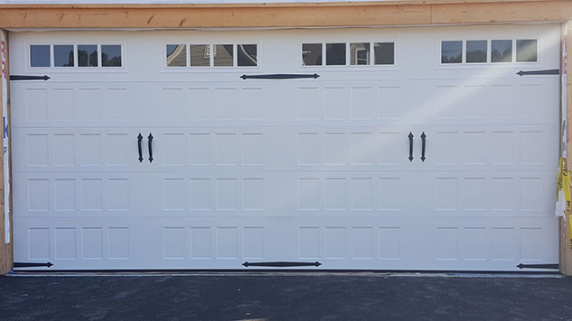 recessed panel garage door