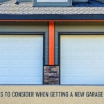 Things to Consider When Getting a New Garage Door
